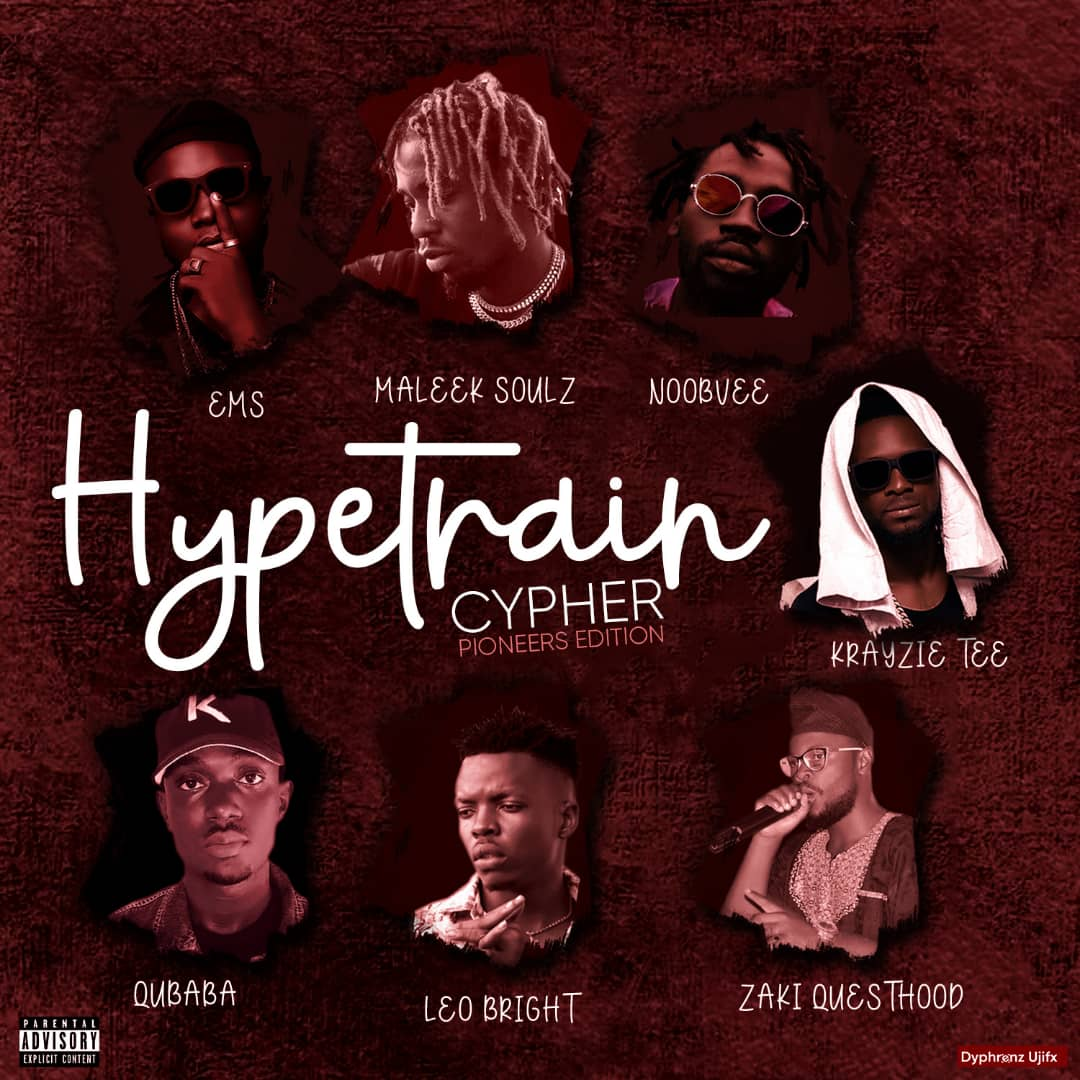 HypeTrain Cypher Pioneer series ft Questhood x Maleeq Souls x King Billy x Qubababa x Noobvee x Greenback and Krayzietee