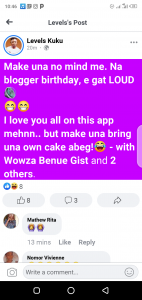Legendary blogger Levels Kuku hypes birthday massively, social media reacts