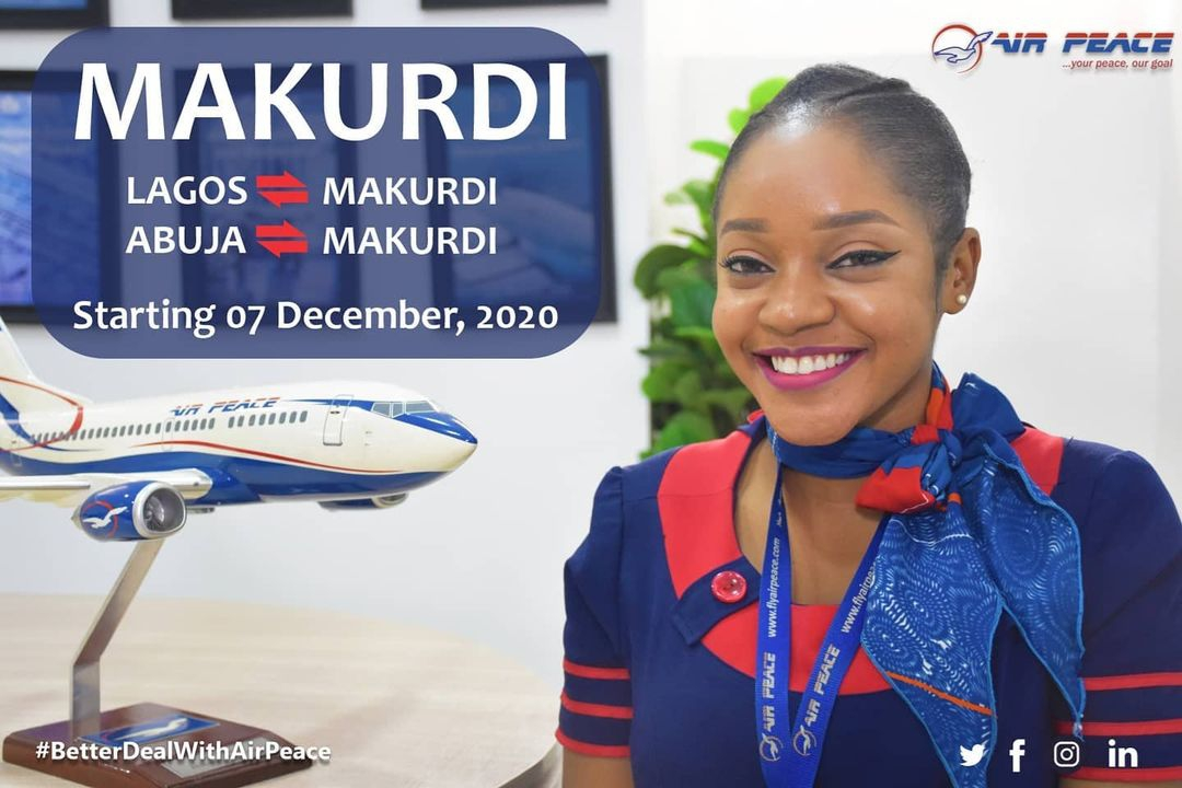 Air Peace officially announce commencement of flights in Makurdi