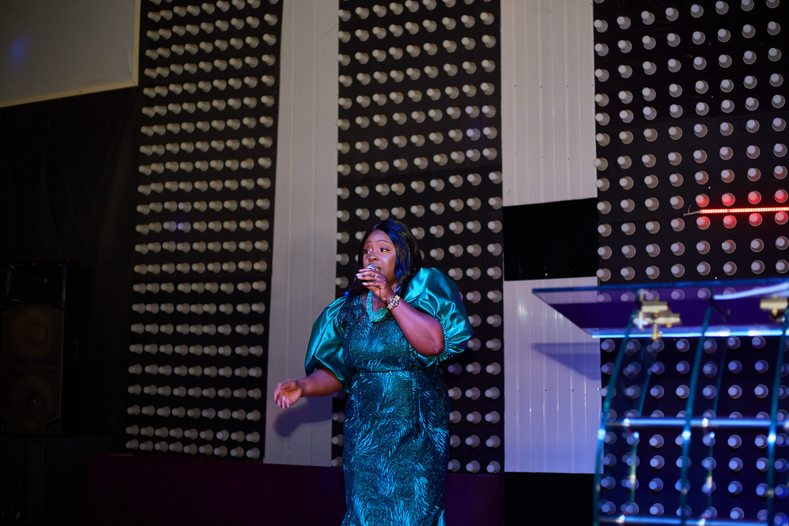 Daisy Mtom successfully host her first event in Benue state titled Highest worship