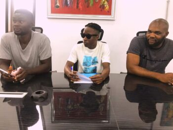 """They expressed their confidence in the attitude, humility and passion shown so far by the new signee. In their vote of thanks, they promised Nigerians a blockbuster as the new activities lined up by the label will be heating the air space in no distant time from now. Lastly they commended Nigerian producers, record label owners and Artiste for their relentless efforts in selling the country's good image and brand across the Globe through quality entertainment and music… It was more of a celebration thing for the Matteye family than a signing. Mr Matthew Ezeigbo said: """"Our label exists to make known the artists we create. Our label manages the development of songs, production of music, manufacturing of merchandise, creative marketing and distribution of the products we create."""