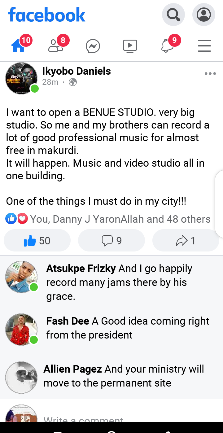 President Ems Plans to open a very big studio