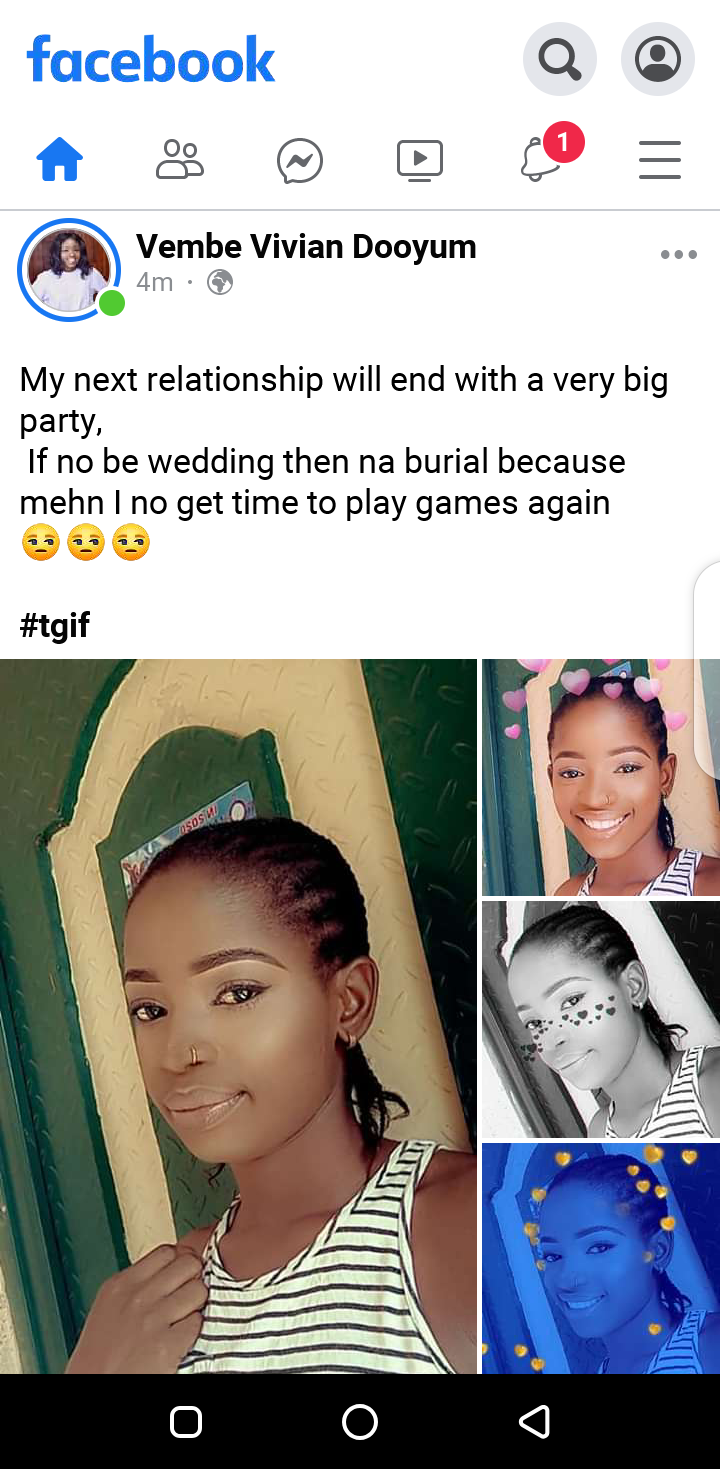 If no be wedding then na burial - Vembe Vivian sets her standard