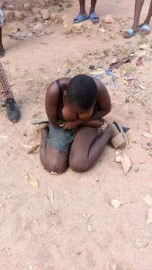 13 year old girl beaten and left naked by her Aunty