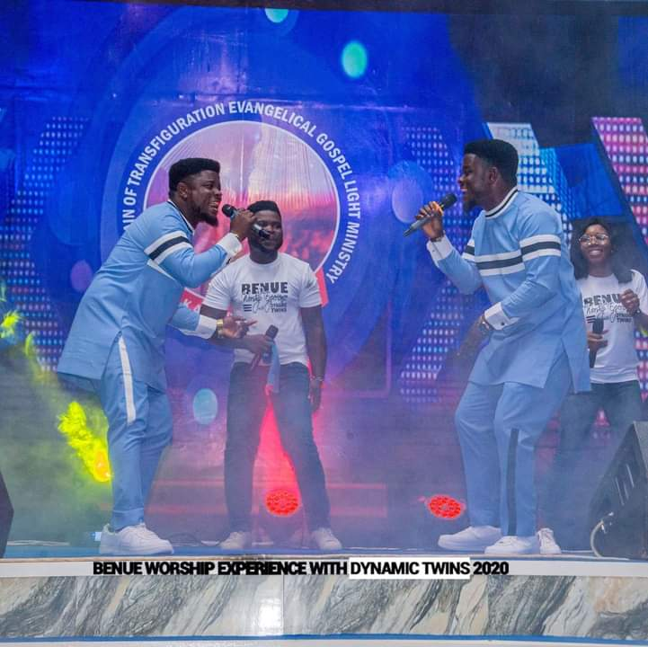 History was made and a standard was set with Benue worship experience with Dynamic Twins
