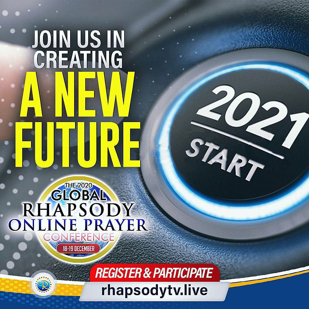 THE 2020 GLOBAL RHAPSODY ONLINE PRAYER CONFERENCE 18-19 DEC