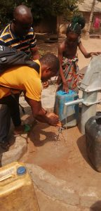 Borehole project completed in December 2020
