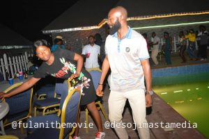 Fulani the Story of a deaf and dumb movie Cast and crew hang out on a light note