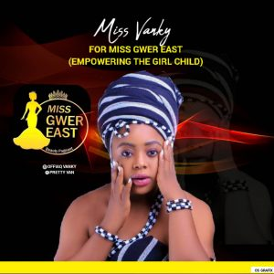 Miss Vanky contest for Miss Gwer East as she solicits support
