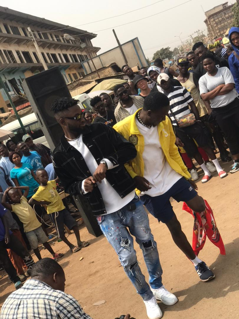 Top Nigerian Celebrity caused a stand still in Gboko for doing this