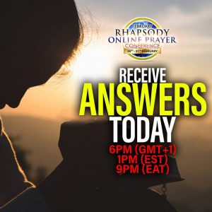 FEBRUARY RHAPSODY ONLINE PRAYER CONFERENCE