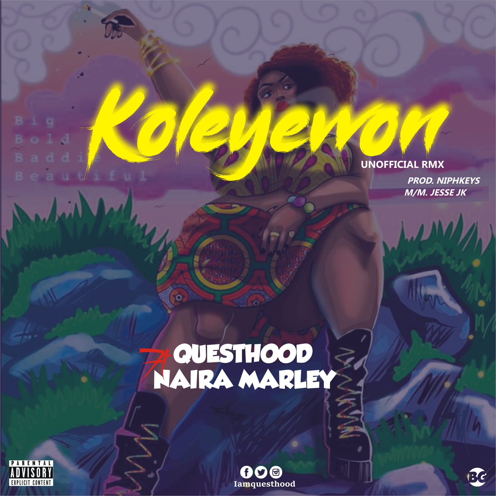 Questhood ft Naira Marley - Koleyewon