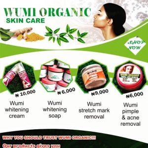 Wumi organic skin care