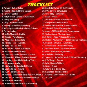 DJ MEKTRIX - PAMPER MIXTAPE FT. BOBBY SAKA