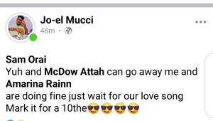 Celebrity Designer Mucci Publicly profess love for Amarina Rainn