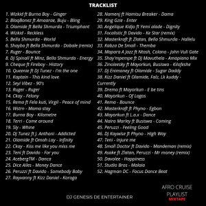 DJ Genesis - Afro Cruise Playlist Mic