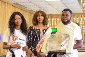 Sunnaija crowns Queen Yvonne Adamu As Face of social media Nigeria 2021 Edition