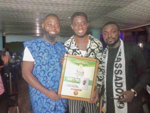 Congratulations to Sammy Stans of Igboji Man Sule as he wins an Award from Iywanger Tv